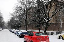 Ulice Matěje Kopeckého v Ostravě-Porubě