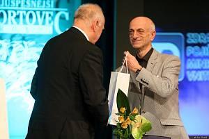 Stanislav Žídek při slavnostním uvedení sportovních legend do karvinské síně slávy v roce 2016.