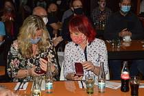 Oceněné: zleva: Andrea Chovancová, Iveta Nogová