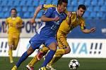 Snímky z utkání FC Baník - FC Vysočina Jihlava.