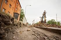 Oprava Horní ulice.