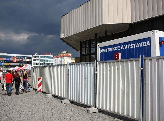 Květinová síň už brzy z Masarykova náměstí v Ostravě zmizí