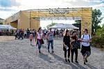Hudební festival Colours of Ostrava 2019 v Dolní oblasti Vítkovice, 17. července 2019 v Ostravě.