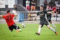 Fotbal, Polanka - Lokomotiva Petrovice, 15. června 2019 v Polance.