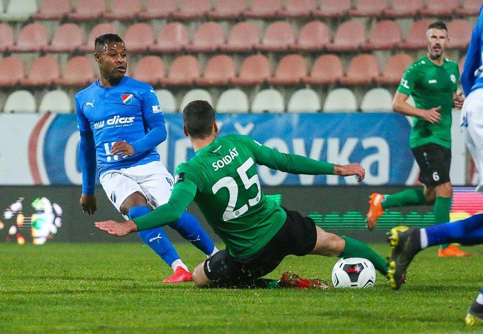Příbram prohrála doma s Baníkem Ostrava 0:4.