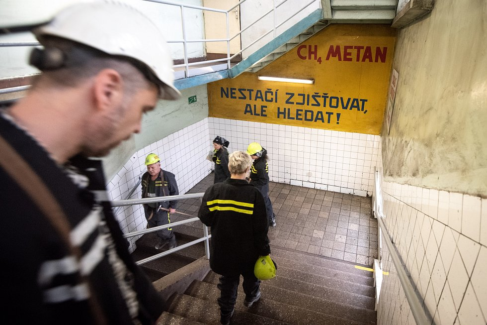 Důl Lazy před uzavřením, listopad 2019. Ilustrační foto.