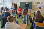 Žáci 9. tříd zahájili výuku v Základní škole Bohumínská.