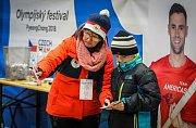 Olympijský festival v Ostravě, 25. února 2018 - závěrečný den .