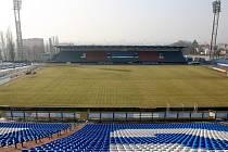 Fotbalový stadion ostravského Baníku na Bazalech