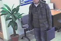 Podezřelý muž zachycený kamerou