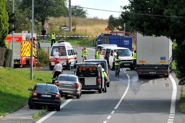 Ilustrační foto. Dopravní nehoda v Klimkovicích.