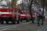 Výročí 70. let od založení profesionálního hasičského sboru v Ostravě.