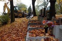 Ústřední hřbitov vna Slezské Ostravě