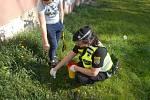 Chlapec přivolal ostravské strážníky.