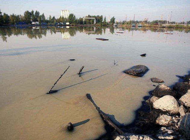 Ostravské laguny na konci září 2008