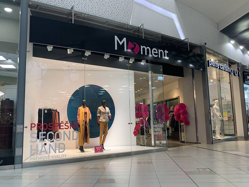 V Ostravě se otevřel první second hand v obchodním centru, a to v Avion Shopping Parku.