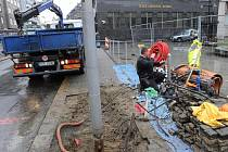 Druhá etapa rekonstrukce Nádražní ulice začne 1. dubna 2016, předpokládaný termín dokončení je listopad 2016.