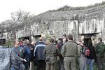 Na pochod po linii československého opevnění se vydalo více než 150 lidí, pro které organizátoři připravili zajímavý program.