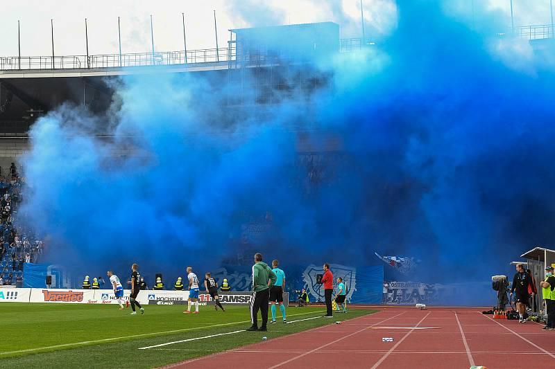 FC Baník Ostrava - Bohemians (utkání 9. kola FORTUNA:LIGY, 25. 9. 2021).