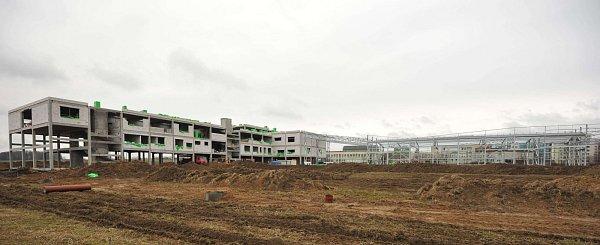 Výjezdové centrum vOstravě-Jihu by mohlo být hotovo ještě letos. Foto: