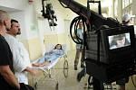 V bývalém porodnicko-gynekologickém oddělení někdejší nemocnice v Ostravě-Zábřehu se rodí první záběry nového televizního filmu Malá princezna podle scénáře Václava Holance a v režii Jiřího Svobody