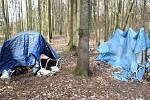 Ostrava a problém bezdomovectví. Ilustrační foto.