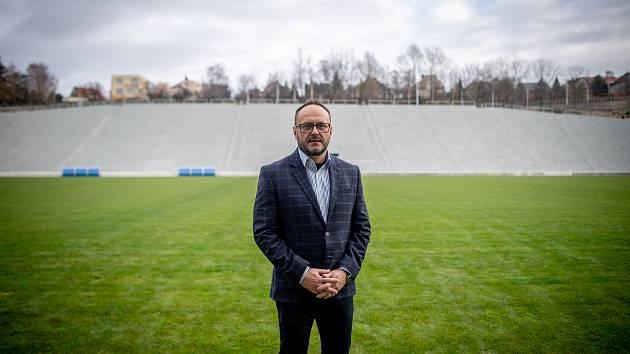 Slavnostní otevření stadionu Bazaly, 2. prosince 2019 v Ostravě. Na snímku Libor Folwarczny.