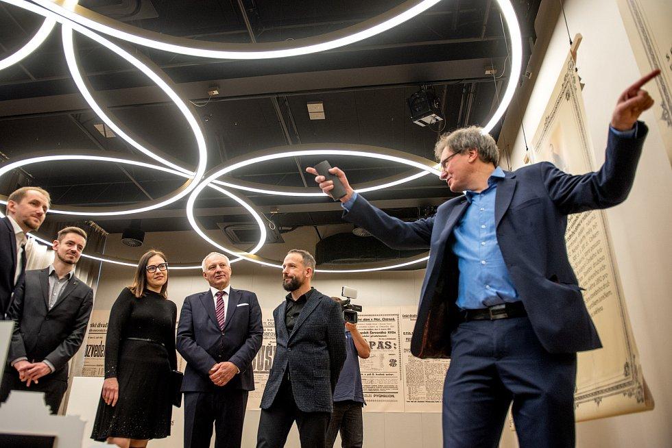 Divadlo Jiřího Myrona otevřelo veřejnosti nové prostory včetně kavárny, 16.prosince 2018 v Ostravě.