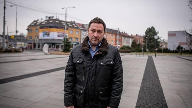 Starosta městského obvodu Mariánské Hory a Hulváky Patrik Hujdus.