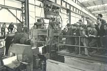 První zkoušky na trati HSCC, 1.10.1958.
