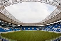 Rhein-Neckar-Arena v německém Sinsheimu vyrostla za neuvěřitelných 22 měsíců.