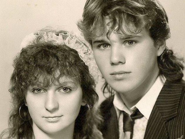 Manželé Spurní - svatební foto.
