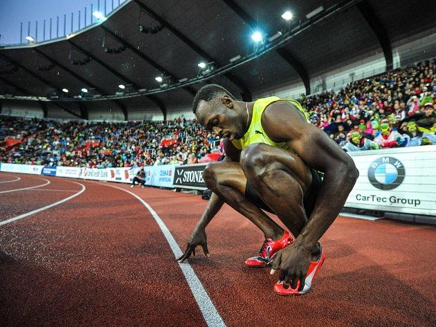 Usain Bolt, Zlatá tretra Ostrava. Ilustrační foto.