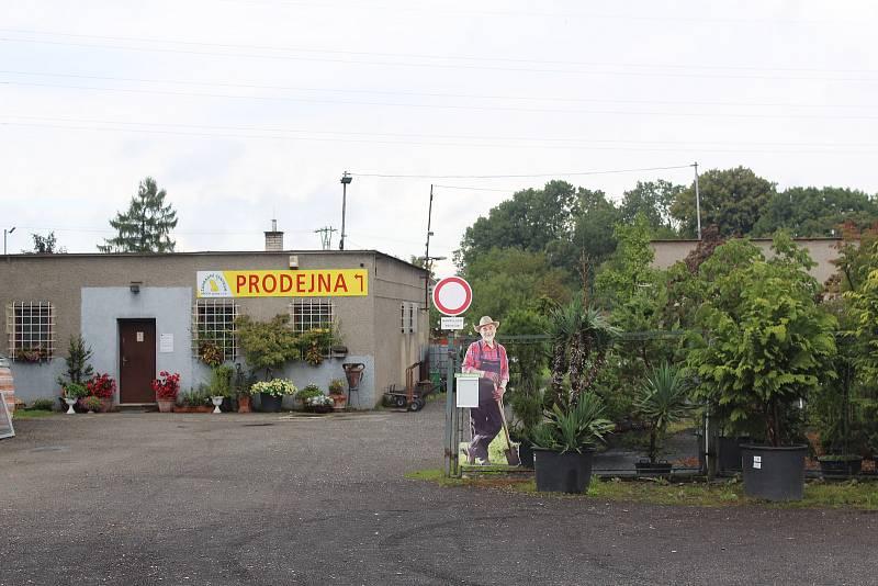 Zahradní centrum Hroch ve Vratimově.