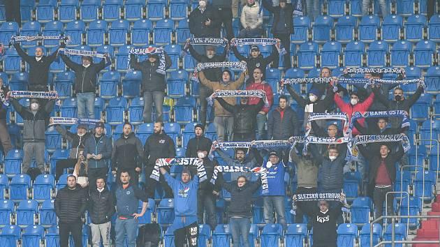 Baník Ostrava - Zbrojovka Brno (1:1), 30. kolo FORTUNA:LIGY, 1. května 2021. Městský stadion ve Vítkovicích.