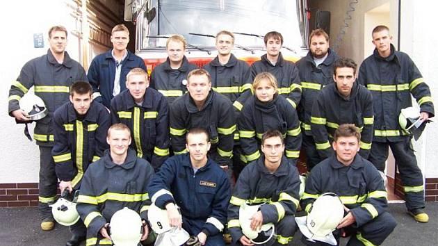 Jednotku zábřežských dobrovolníků tvoří dvacet pět členů.