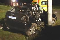 Nehoda v Raškovicích skončila smrtí