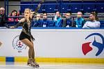 Mezinárodní mistrovství ČR v krasobruslení v Ostravar Aréně, 14. prosince 2019 v Ostravě. Na snímku Eliška Březinová.