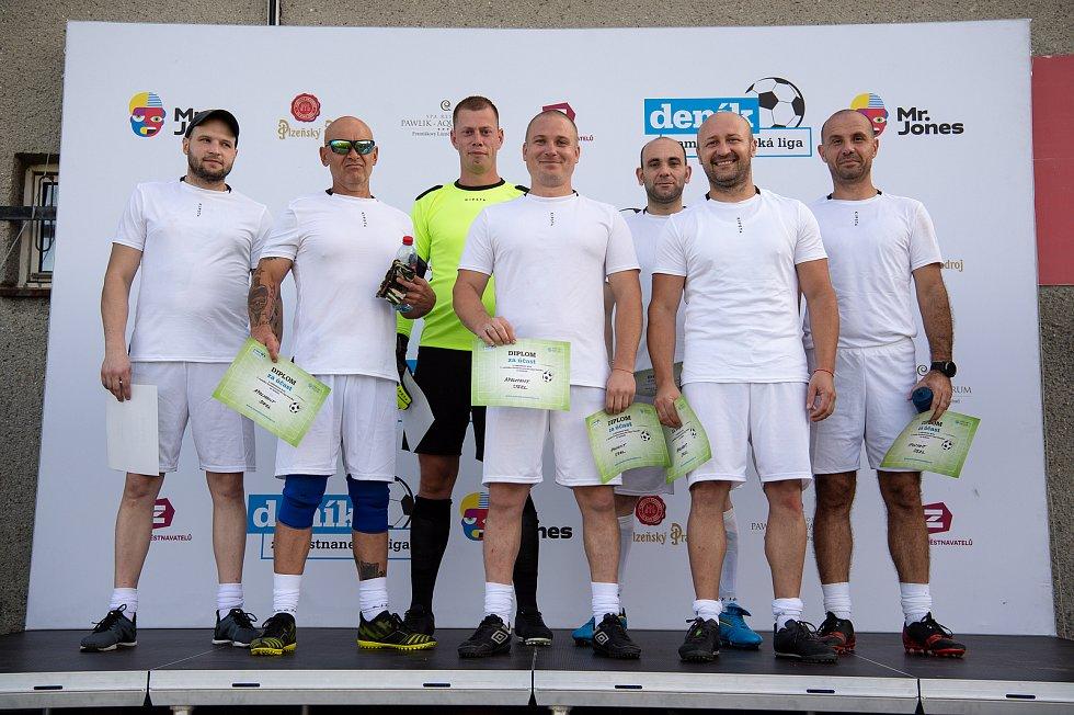 Zaměstnanecká liga Deníku, 22. září 2020 v Palkovicích. Tým Apolmont.