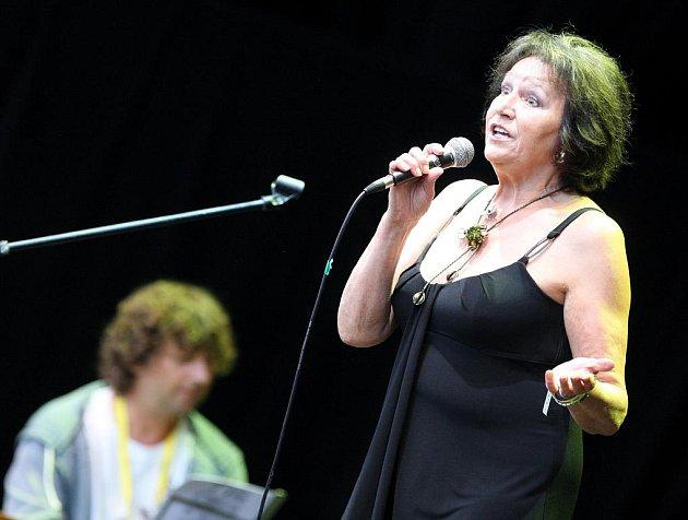 Marta Kubišová na festivalu Colours of Ostrava.