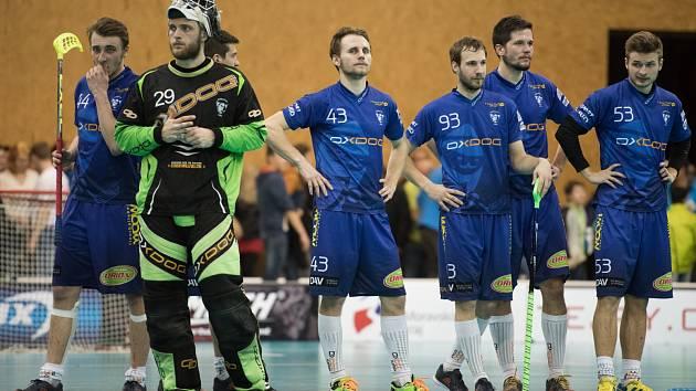 Florbalisté Vítkovic prohráli s Mladou Boleslaví šestý zápas 3:4.