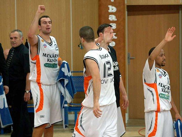 Basketbalisté Kunína se opět mohli radovat.