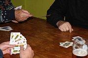 Vánoční turnaj v mariáši se odehrál v sobotu v Koblově.