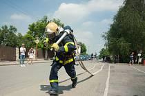 Soutěž ve Vratimově v hasičském víceboji.