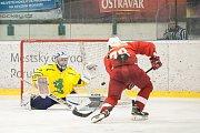 Semifinále 2. ligy, pátý zápas: HC RT TORAX Poruba – Draci Šumperk 4:1