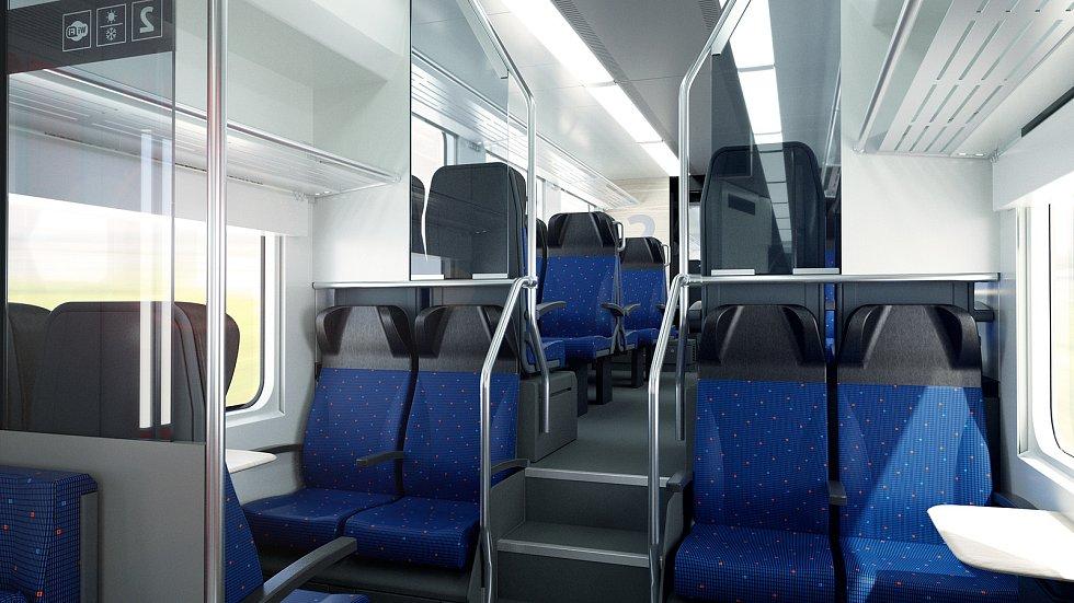 České dráhy uzavřely rámcovou smlouvu na dodání až 60 kusů  elektrických jednotek s konsorciem Škoda Transportation a Škoda Vagonka. Cestující se jimi svezou nejdříve v Moravskoslezském, a pokud záměr definitivně posvětí nové krajské vedení, také v Olomou