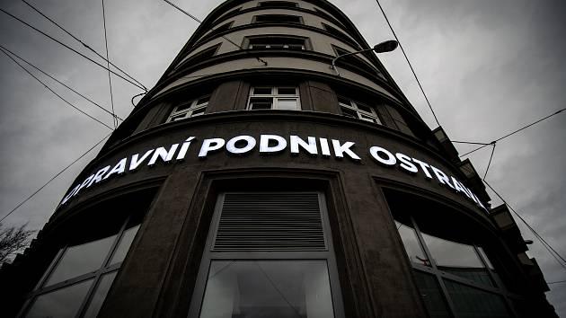 Dopravní podnik Ostrava.