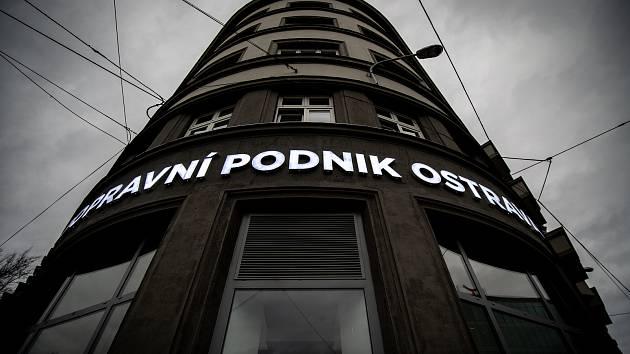 Budova dopravního podniku Ostrava.