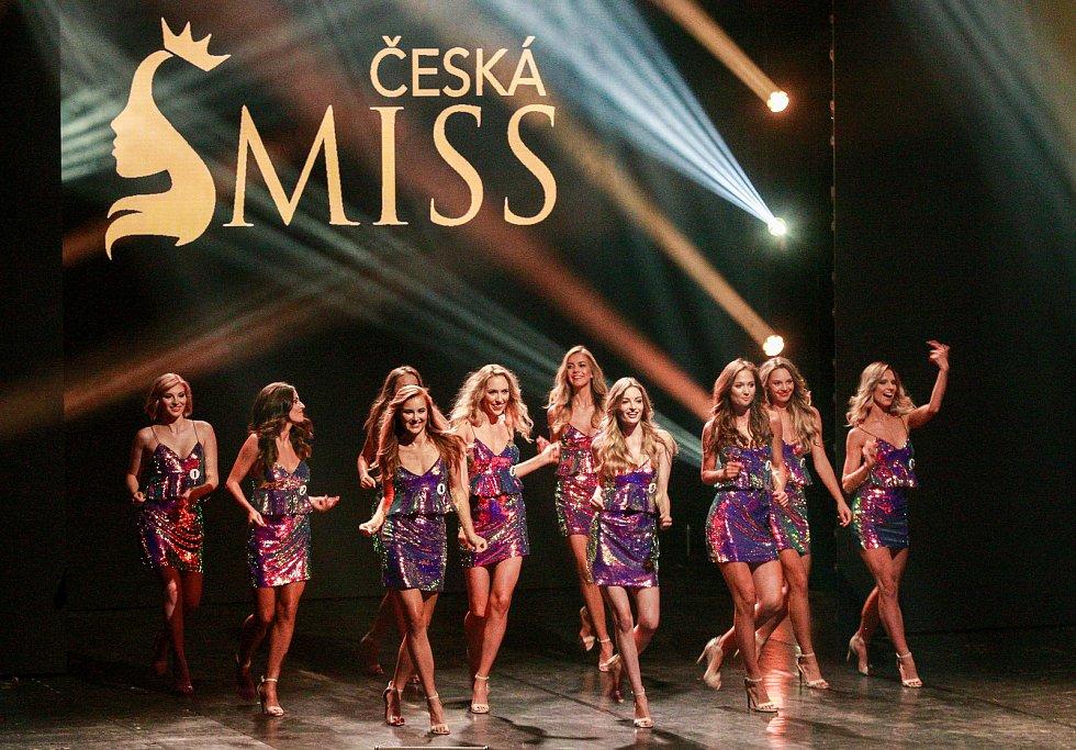 Finále soutěže Česká Miss 2018 v Gongu.