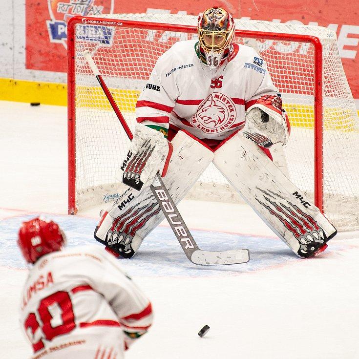 Hokejová Chance liga HC RT TORAX Poruba  - HC Frýdek-Místek, 4. ledna 2021 v Ostravě. Raszka
